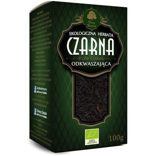 Herbata Czarna Odkwaszająca Liściasta BIO 100 g Dary Natury, 5902581616920