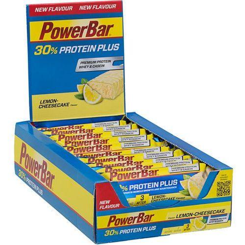 Powerbar proteinplus 30% żywność dla sportowców lemon cheesecake 15 x 55g 2019 batony i żele energetyczne