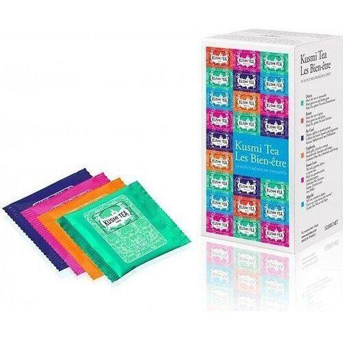 Herbaty wellness w zestawie wellness-blends 24 torebki marki Kusmi