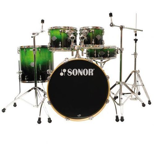 esf 11 essential force stage 3 green fade, zestaw perkusyjny marki Sonor