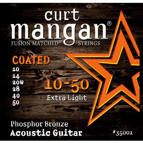 Curt mangan 10-50 phosphor bronze coated 35001