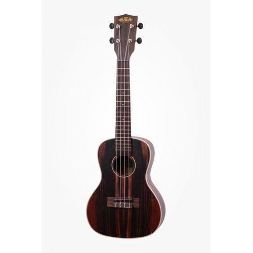 ebony ukulele koncertowe z pokrowcem marki Kala
