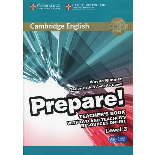 Prepare! 3 Teacher's Book with DVD and Teacher's Resources Online - Wayne Rimmer (9780521180566)