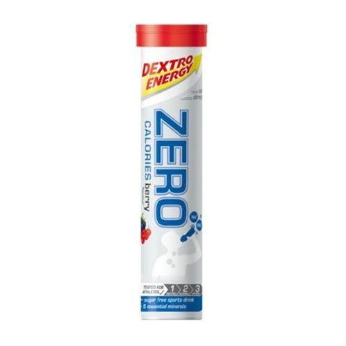 Napój z elektrolitami w tabletkach DEXTRO ENERGY Zero Calories / Opakowanie: 80 g 20 szt / Smak: wieloowocowy (4046802214029)