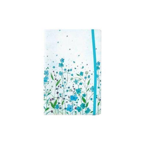Notatnik Mini Niebieskie Kwiaty (2008)