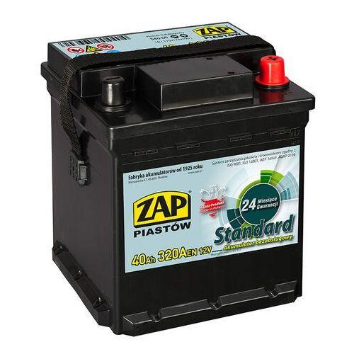 Akumulator ZAP Standard 40Ah 320A kostka PRAWY PLUS