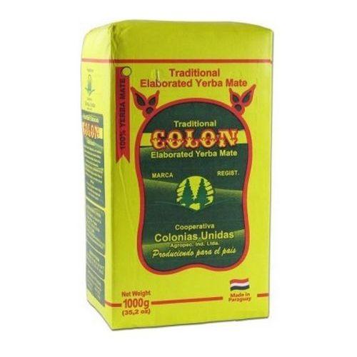 Yerba mate colon elaborada 1kg marki Yerba mate colon, paragwaj