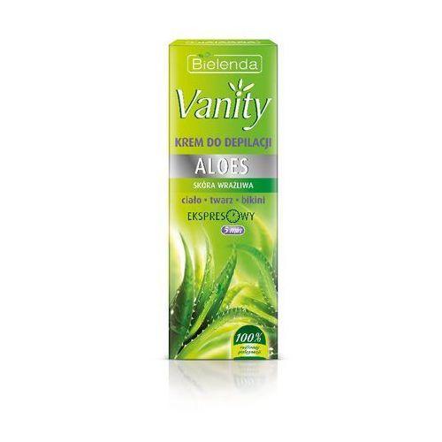 Bielenda, Vanity, Aloes, krem do bezpiecznej depilacji skóry wrażliwej, 100 ml