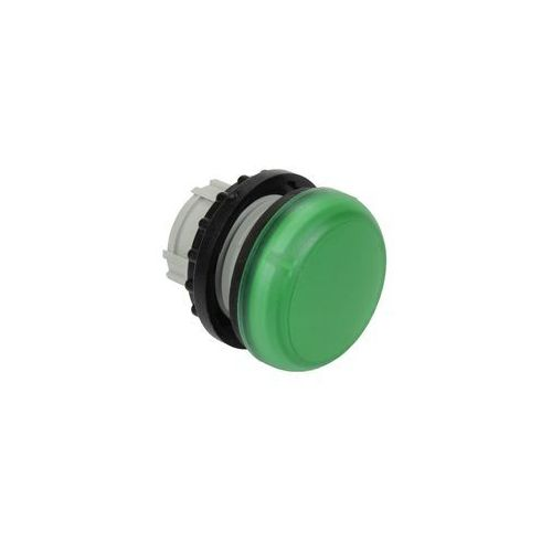 Główka lampki sygnalizującej, płaska 22mm, zielona M22-L-G Eaton-Moeller