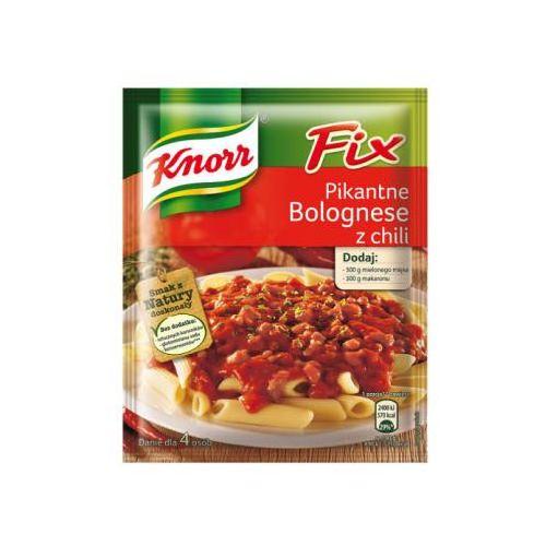 Pikantne Bolognese z chili