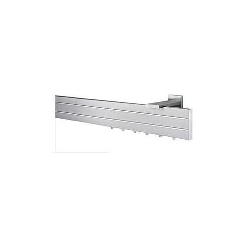 Linia Bellagio / Aluminiowy Karnisz Apartamentowy BELLAGIO I STILO 2 dekory INOX - oferta [95f34275b75532f5]