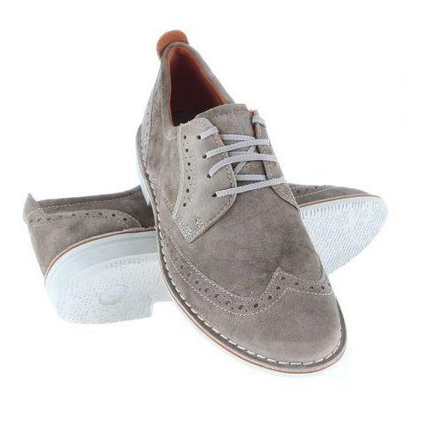 d16046af Buty lifestylowe adar navajo brown 63053402114, Ecco 239,50 zł wysmakowane  męskie buty ze skóry zamszowej. Wyściółka wytworzona ze skóry i materiału  ...