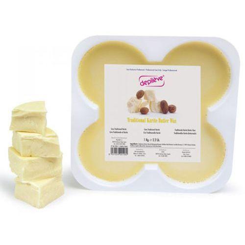 Depileve TRADITIONAL KARITE BUTTER WAX Wosk tradycyjny - masło karite (500 g.)