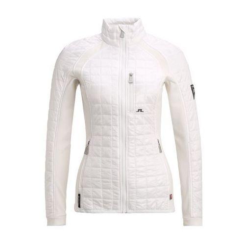 J.LINDEBERG BONA HYBRID Kurtka sportowa white, materiał poliamid, biały