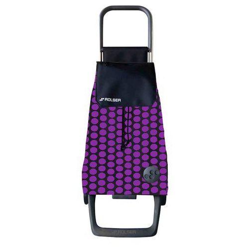 Wózek zakupowy Rolser Joy 1800 Baby Luna lila (wózek na zakupy)