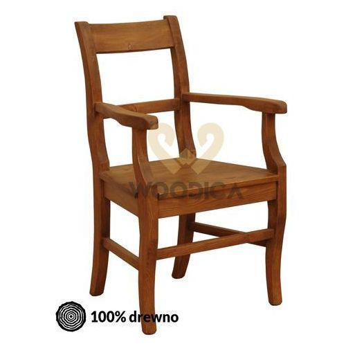 Woodica Fotel hacienda p [prosty]