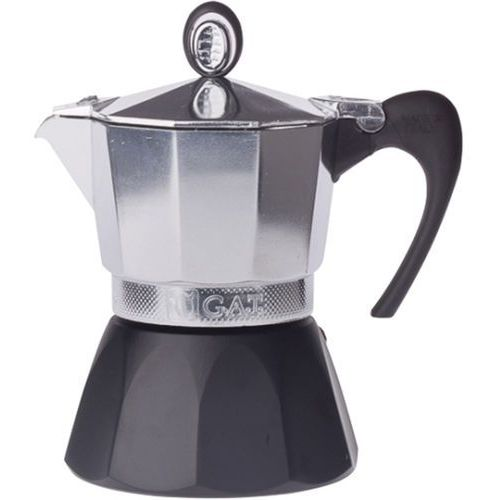 Kawiarka aluminiowa diva 3 filiżanki, czarna marki G.a.t.