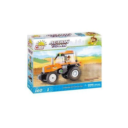 Klocki Cobi Action Town Ciągnik rolniczy