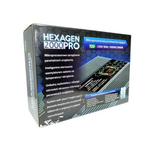 Przetwornica HEX 2000 PRO 12, HEX 2000 PRO 12V
