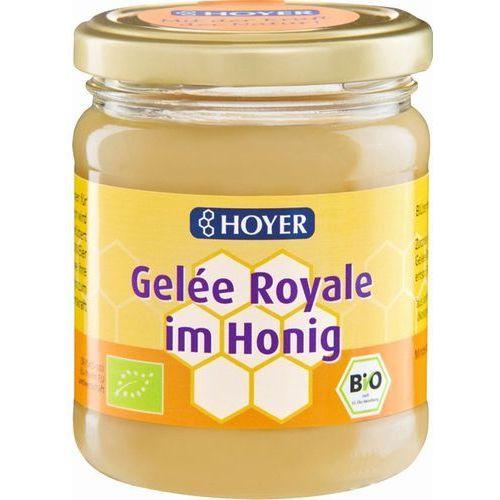 Hoyer (miody, produkty z miodem) Miód z mleczkiem pszczelim bio 250 g - hoyer (4002029030538)