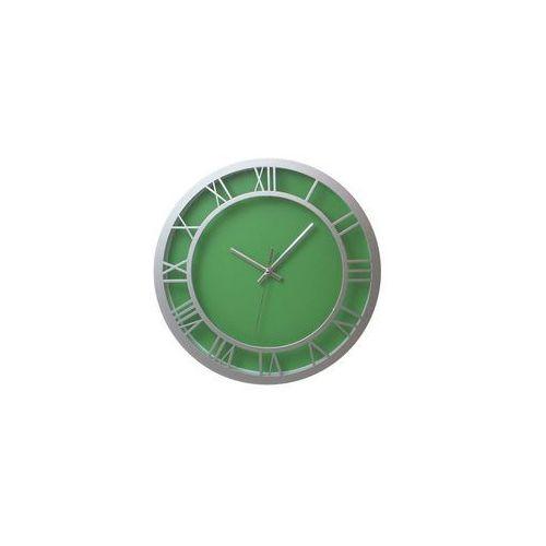 Atrix Zegar ścienny roman zielony