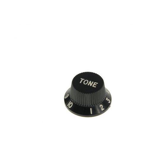 kb-240 gałka potencjometru tone typu strat, czarna marki Boston