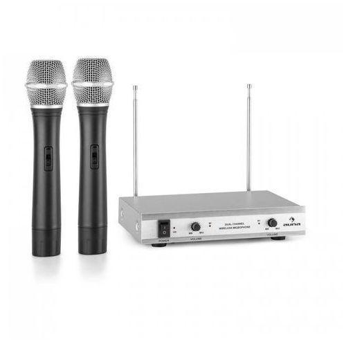 VHF-2-H 2-kanałowy radiowy zestaw mikrofonowy VHF 2x mikrofon ręczny zasięg