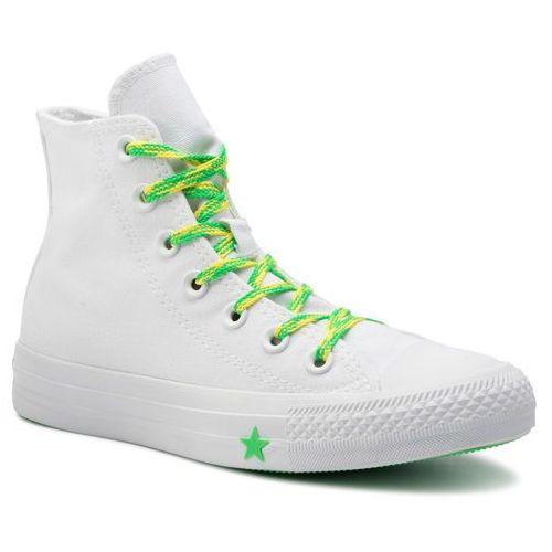 Trampki - ctas hi 564123c white/acid green/fresh yellow marki Converse