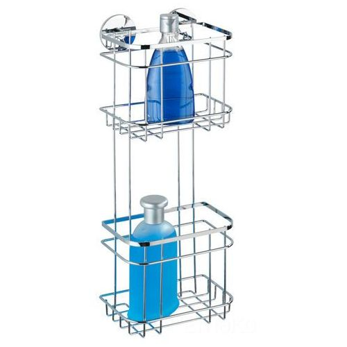 Półka łazienkowa pod prysznic turbo-loc, 2 poziomy - stal nierdzewna, marki Wenko