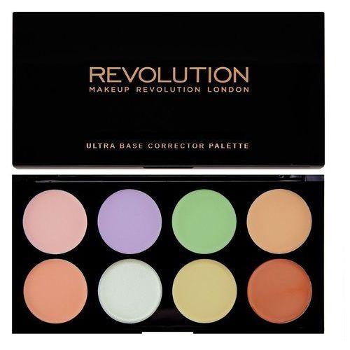 Makeup revolution ultra base corrector palette zestaw korektorów (8 odcieni) 13g (5029066060044)