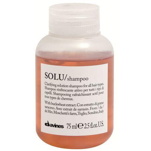 solu - szampon odświeżający 75ml marki Davines