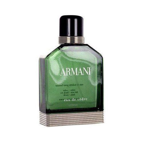 Giorgio Armani Eau de Cedre 100ml M Woda toaletowa - oferta (057ddbae5f13d64d)