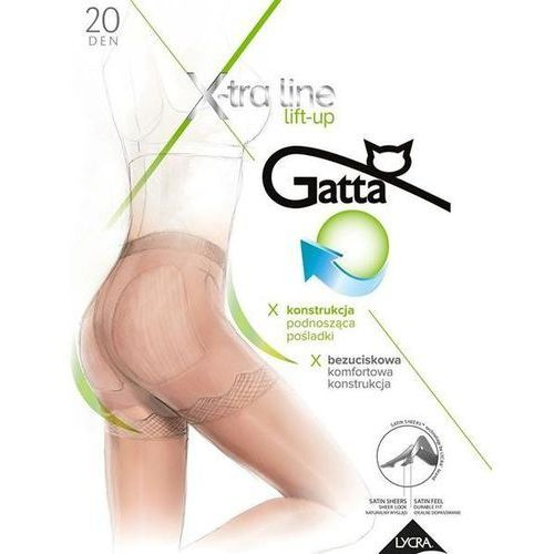 Rajstopy body lift-up 20 den bronzo/odc.brązowego - bronzo/odc.brązowego, Gatta