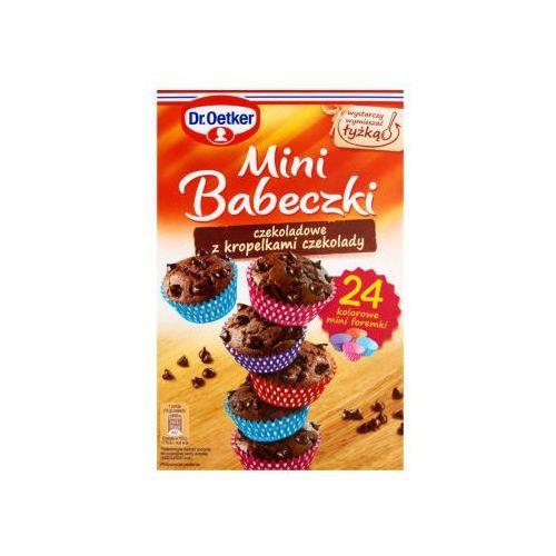Mini babeczki czekoladowe z kropelkami czekolady 245 g Dr. Oetker (5900437081649)