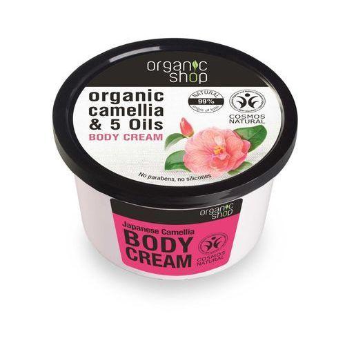 Organic Shop Krem do ciała Japońska Kamelia 250ml (4744183012431)