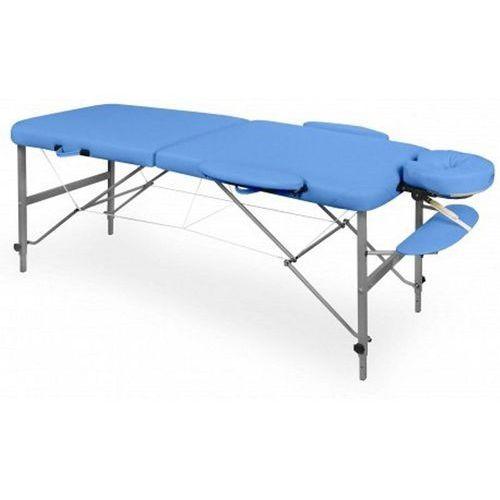 Juventas Składane łóżko do masażu - kozetka, kolor: różowy, model: viva aluminium