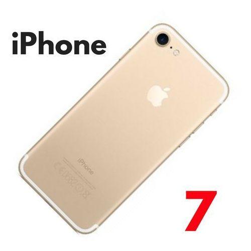 Obudowa tylna klapka iPhone 7+ gold