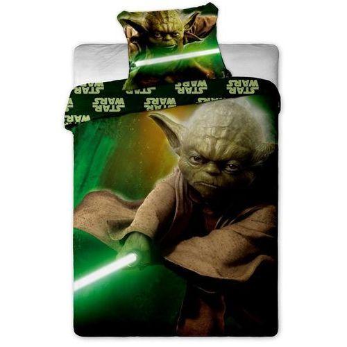 Dziecięca bawełniana pościel Star Wars Yoda, 140 x 200 cm, 70 x 90 cm, Jerry Fabrics