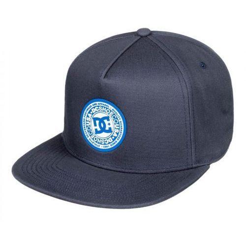 DC chłopięca czapka z daszkiem uniwersalna ciemnoniebieska