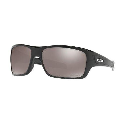 Oakley Okulary turbine polished black prizm black polarized oo9263-4163
