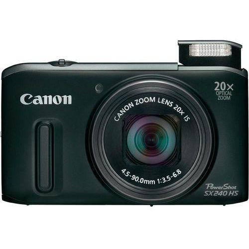 Canon PowerShot SX240 [zoom optyczny 20x]
