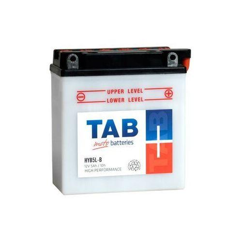 Akumulator motocyklowy TAB YB5L-B (HYB5L-B) 12V 5Ah 55A P+