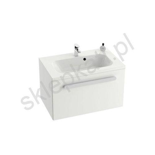 Ravak szafka pod umywalkę sd chrome 700 biała/biała połysk x000000532 (8595096898782)