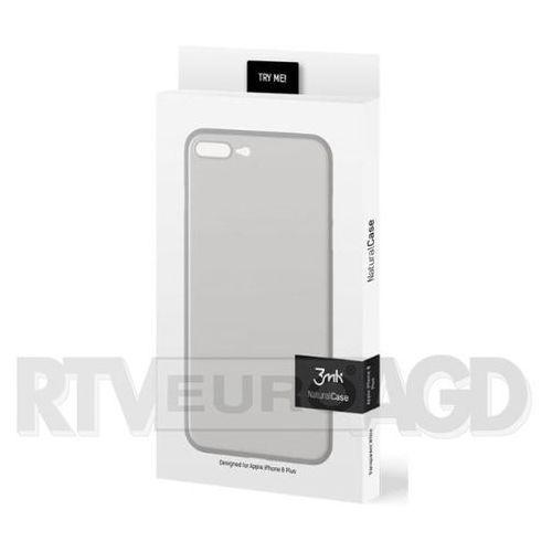 3mk natural case iphone 8 plus (biały)