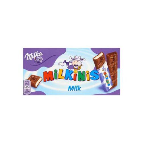 Batoniki milka milkinis milk z czekolady mlecznej 87,5 g marki Kraft