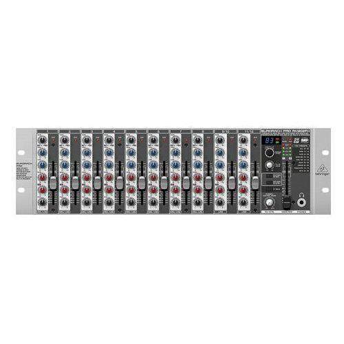 """eurorack pro rx1202fx - 12-kanałowy mikser liniowy -5% na pierwsze zakupy z kodem """"start""""! marki Behringer"""
