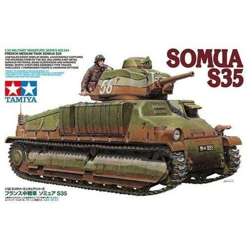 Somua s35 marki Tamiya