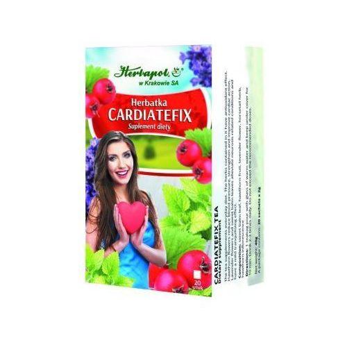 Herbatka cardiatefix 20szt marki Herbapol kraków