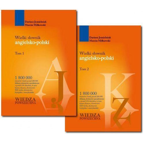 Wielki słownik angielsko-polski. Tom 1 i 2, oprawa twarda