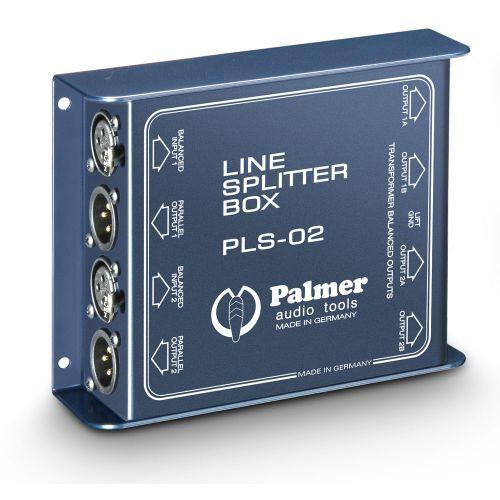 Palmer Pro PLS 02 2-kanałowy rozdzielacz liniowy